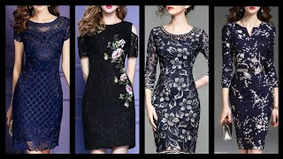 Upcoming Trend (2020) Floral Print And Simple Bodycon Dresses Collection For Women 💃