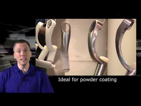 Quick, informative video about Green Polyester Tape Disks and their uses in powder coating,                                              anodizing, plating, and e-coating. By Viadon LLC.