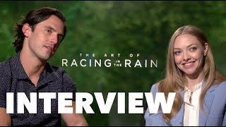 THE ART OF RACING IN THE RAIN: Milo Ventimiglia and Amanda Seyfried Interview