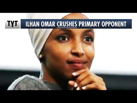 """Ilhan Omar COASTS To Victory in """"Tough"""" Primary Election"""