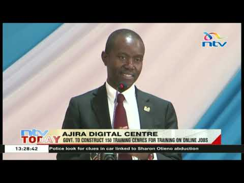 Government to construct 150 training centers for training online jobs