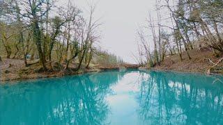 Le Lac Bleu et les cascades des Dards - FPV Cinématic - (Sound Design à écouter au casque)
