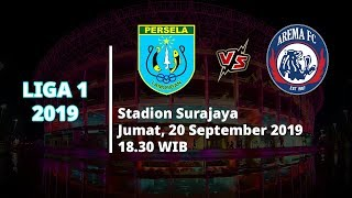 VIDEO: Live Streaming Liga 1 2019 Persela Lamongan Vs Arema FC Jumat (20/9) Pukul 18.30 WIB