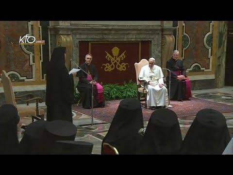 Audience du Pape François aux représentants des Eglises chrétiennes