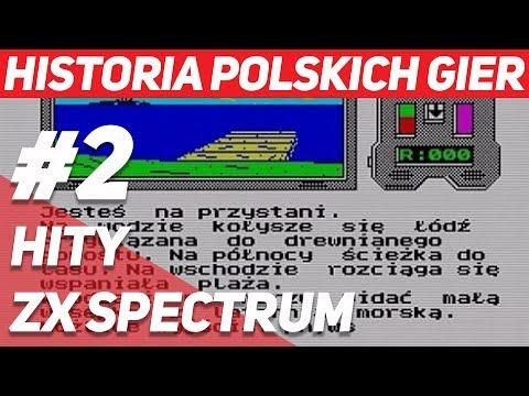 Historia Polskich Gier #2 - Hity ZX Spectrum - Masz 3 Życia