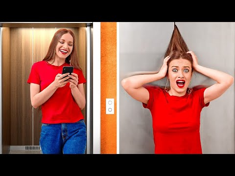 मज़ाकिया लम्बे, छोटे और घुंगराले बालों की परेशानिया || मिलती जुलती स्थितिया और फेलज़ 123 GO!