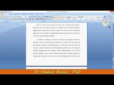 Dissertation chapter 3