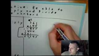 Multiplying and Dividing Whole Numbers