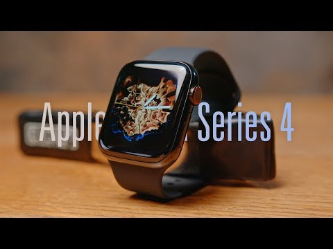 Обзор Apple Watch Series 4 GPS 40mm (Space Gray Aluminum Case with Anthracite/Black Nike Sport Band)