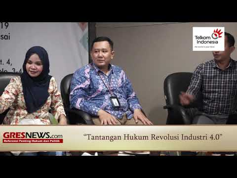 VIDEO: Tantangan Hukum Revolusi Industri 4.0 (Bagian 4)