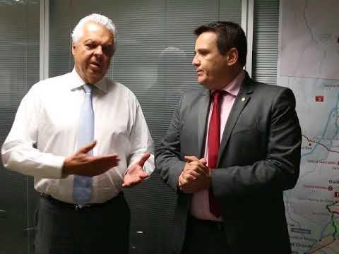 Dimas Fabiano e diretor da ANTT - Linha de ônibus Bocaina de Minas/Resende