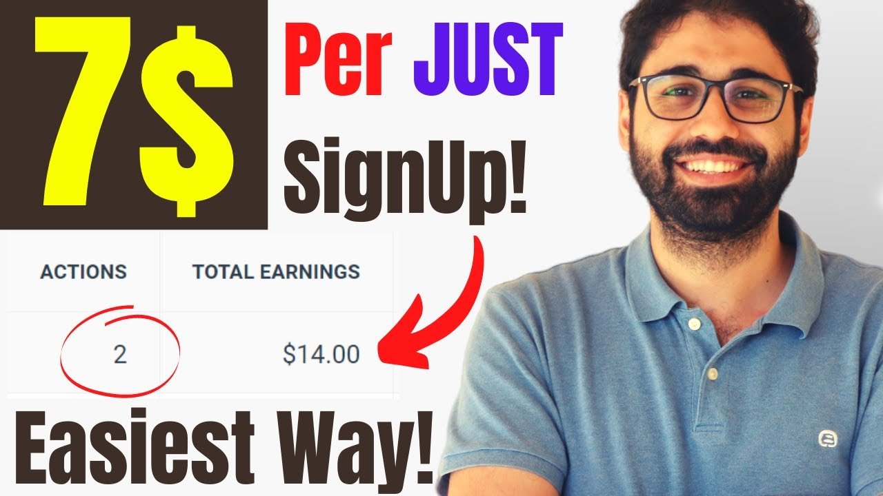 Make 7$/ Signup|The Easiest Method To Generate Income Online [2021] thumbnail