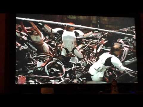 Star Wars Trash compactor scene ( A New Hope)