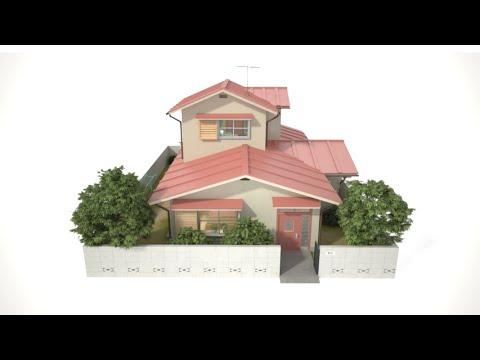 哆啦a夢大雄家3d導覽影片(野比家 遊覽)