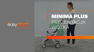 Коляска EasyGo Minima Plus carbon от компании Beesel - видео