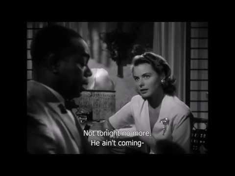 Casablanca Play it again, Sam Scene (HD & Sub)
