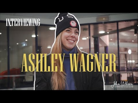 ASHLEY WAGNER EXCLUSIVE INTERVIEW by John Wilson Blades