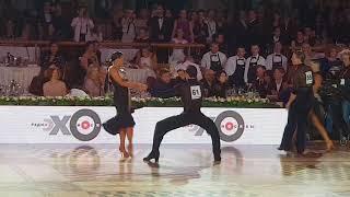 Mikhail Popov  & Veronika Tamarova Jive Final Kremlin Cup Amateur Latin