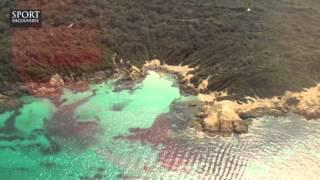 Survol de la côte varoise en hélicoptère