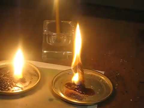 "Ритуал ""2 свечи"". Демонстрация."