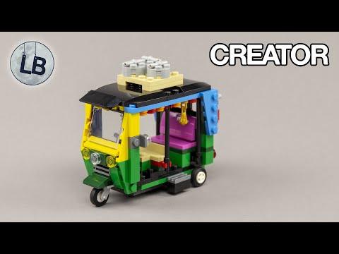 Vidéo LEGO Creator 40469 : Le Tuk Tuk