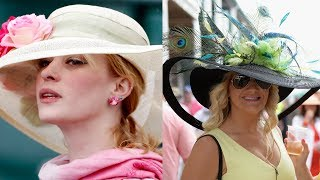 How Fancy Hats Become Part of the Kentucky Derby Tradition
