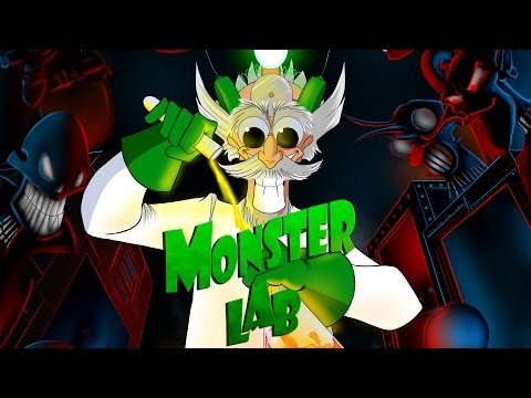 Monster Lab Card Game Video