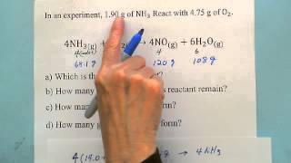 Stoichiometry: Limiting & Excess Reactant