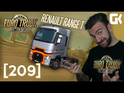 RENAULT RANGE T! | Euro Truck Simulator 2 #209