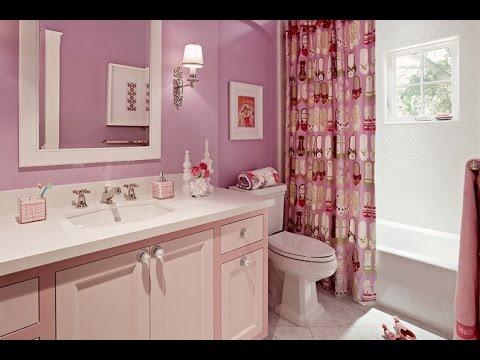 Шторки в ванную комнату.  Что можно придумать