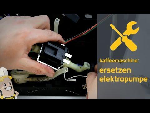 Ersetzen der Elektropumpe Ihrer Kaffeemaschine | Das Ersatzteilecenter.de Verfahren
