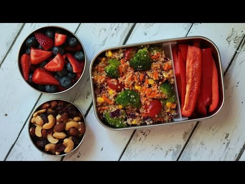 Video 3 Healthy Quinoa Recipes | Back to School Lunch Ideas