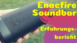 Besser als JBL? Enacfire Soundbar - Erfahrungsbericht & Review