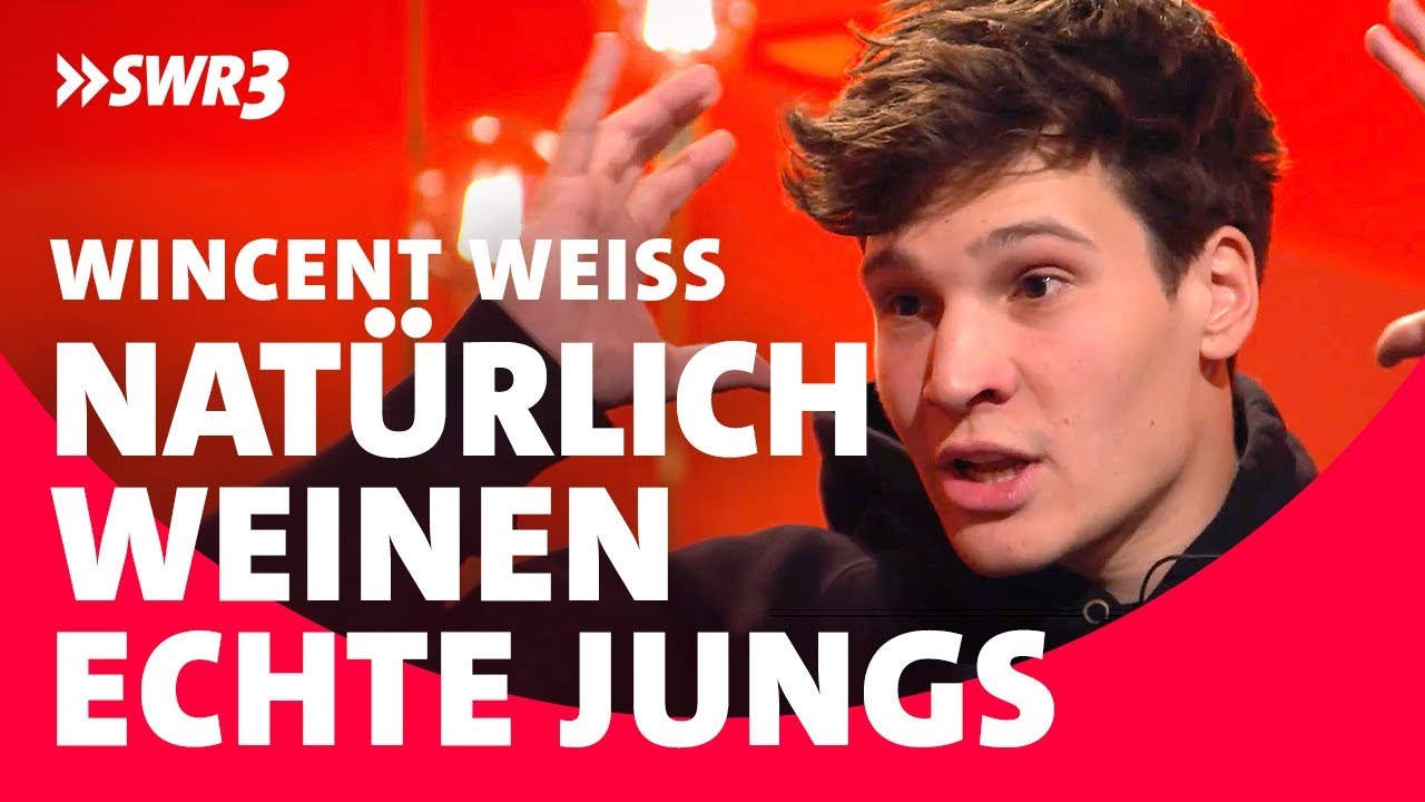 Wincent Weiss Interview; Foto: SWR3