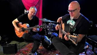 Olivier-Roman Garcia et Christophe Godin acoustique session
