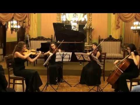 Cuarteto de Música de Cámara -- Alicante. Asociación Pro Música Amadeo L. Sala.