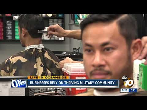 Life in Oceanside: Barber shop relies on military community
