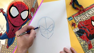 You Can Draw Spider-Man! | Marvel Draw!