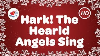 Hark the Herald Angels Sing with Lyrics | Best Christmas Carols | Children Love to Sing