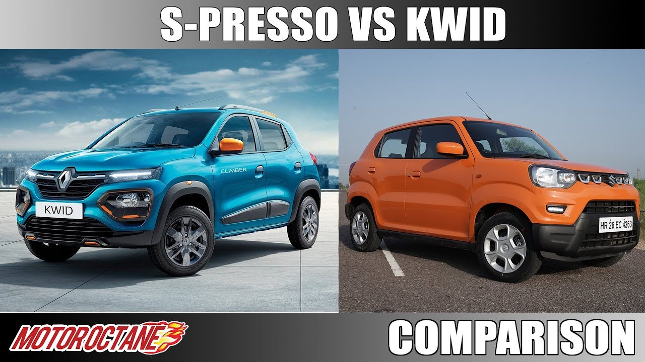 Motoroctane Youtube Video - Maruti S-Presso Vs Renault Kwid | Hindi | MotorOctane