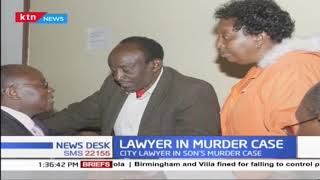 City lawyer yet to appear in court over 'murder' of his son