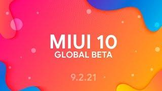 MIUI 10 GLOBAL BETA 9.2.21 - ОБЗОР ПРОШИВКИ | FACE UNLOCK ДЛЯ ПРИЛОЖЕНИЙ