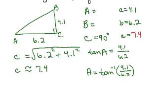 Solve Right Triangles 2