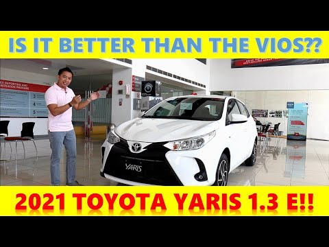 Is the 2021 Toyota Yaris E a Sportier Toyota Vios?? Drive Impressions and Full Review!