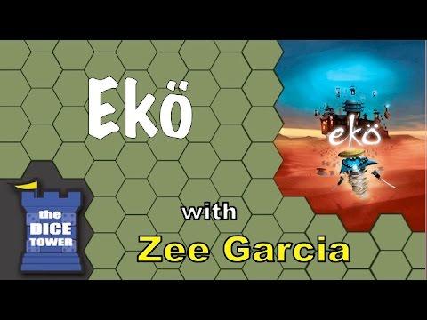 The Dice Tower reviews Ekö