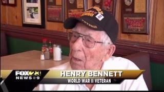 City recognizes WWII Columbia Veteran