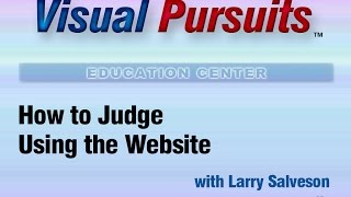 How to Judge using the Website