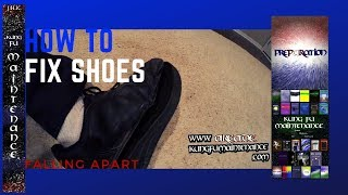 How To Fix Shoes Sole Falling Apart Bottom Coming Off Shoe Repair