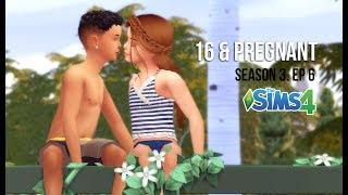 MY FIRST KISS | 16 & PREGNANT | SEASON 3. EP.6 | A Sims 4 Series