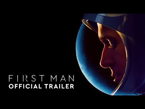 Video trailer för First Man - Official Trailer #2 [HD]
